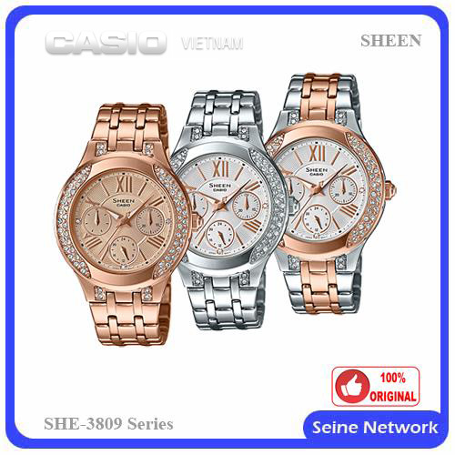 Đồng hồ Casio Sheen SHE-3809PG-9AUDR