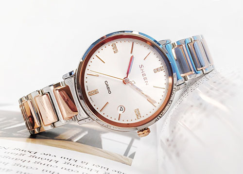 Đồng hồ Casio Sheen SHE-4048SG-7AUDR